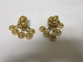 Costume Jewelry Ladies Earrings ,  Clip on (4 Pair) , Pierced (1 Pair) ,... - $100.00