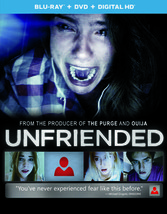 Unfriended (Blu Ray/DVD W/Digital Hd W/Ultraviolet)