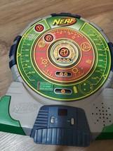 Nerf-N-Strike Green Tech Target Electronic Talking Dart Board 2003 Hasbro - $16.04