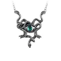 Gorgons Eye Necklace by Alchemy Gothic - $48.46