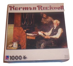 Sure-lox 1000 piece jigsaw puzzle Norman Rockwell Memories - New In Box - $18.00