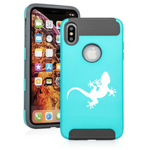 For Apple iPhone X XS MAX XR Shockproof Hard Soft Case Cover Gecko - $14.99