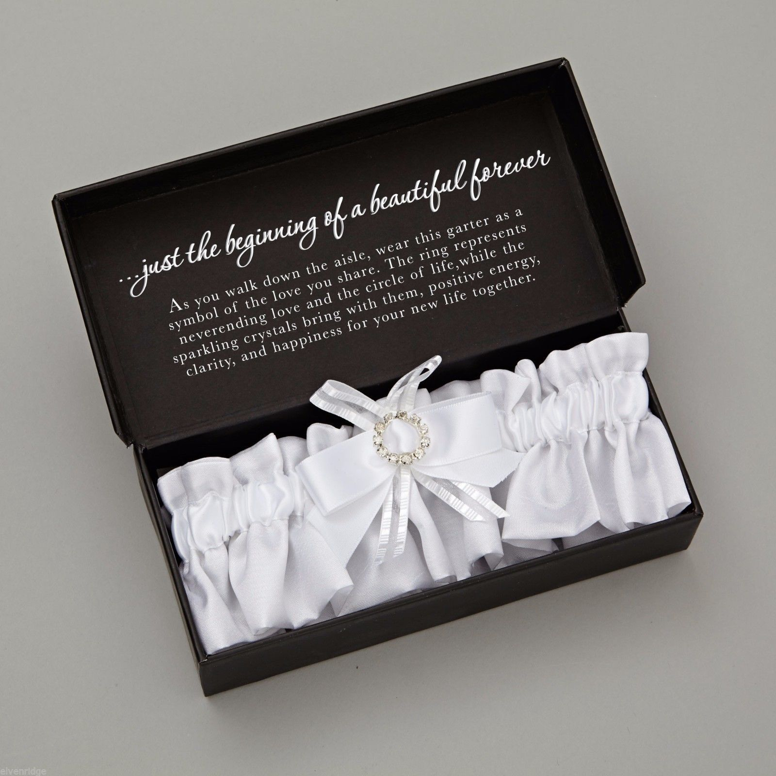Insignia Wedding Day Ceremonial Garter New in Box