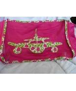 Vera Bradley Packing Cube Travel Bag Lilly Bell pattern with airplane #2 - $35.00