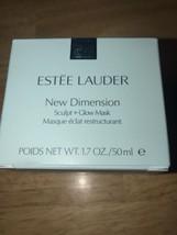 Estee Lauder New Dimension Sculpt & Glow Mask 1.7 oz /50ml FULL SIZE New... - $26.72