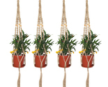 Plant hanger beaded 4pcs 2  thumb155 crop