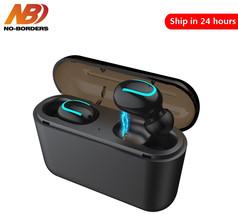 NO BORDERS Bluetooth 5.0 Q32 Earphones TWS Wireless Headphones Bluetooth... - $13.33