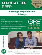 Reading Comprehension & Essays GRE Strategy Guide, 3rd Edition (Manhatta... - $15.53