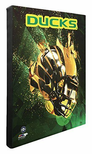 "NCAA Oregon Ducks Beautiful Gallery Quality, High Resolution Canvas, 16"" x 20"""