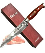 """SEDGE Damascus Slicing Carving Knife 8"""" Pro SD-H Series in Gift Box - BR... - $72.95"""