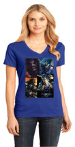 Lobo DC Comics District Made Ladies Perfect Weight V-Neck T-Shirt Size XS To 4XL - $19.99+