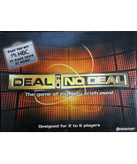DEAL Or NO DEAL The Game of Mystery Briefcases Pressman Board Game - $50.00