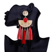 Refined Alloy Nation Bohemia Tassel Earrings Fashion Women Statement Dan... - $25.99