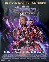"Marvel Avengers: Endgame - 22""x28"" Original Movie Promo Poster 2019 Iron Man Hul - $14.69"