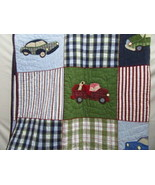 Pottery Barn Kids Cars and Trucks Twin Patchwork Quilt - $85.00
