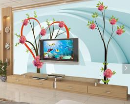 3D Rose Tree 549879 Fototapeten Wandbild Fototapete BildTapete Familie DE - $52.21+