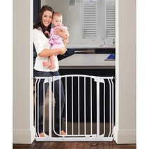 Dreambaby Chelsea Auto Close Security Gate in White with Extensions - $69.99