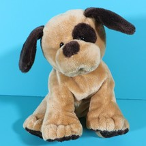 Ty Pluffies Barkers Puppy Dog Plush Brown Plastic Eyes Stuffed Toy Lovey... - $24.95