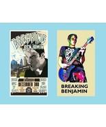 2 Breaking Benjamin Magnets - $9.99