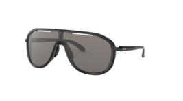 Oakley Outpace Gris Cálido Polarizado Gafas de Sol Deportivas OO4133 0126 - $98.98