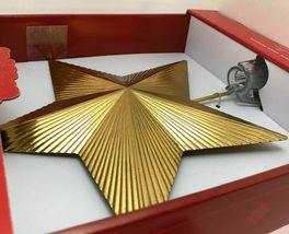 Star Tree Topper Gold Textured Foil Unlit Christmas Holiday Wondershop Target image 3