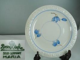 Rosenthal Maria 3473 Blue Floral Saucer - $12.86