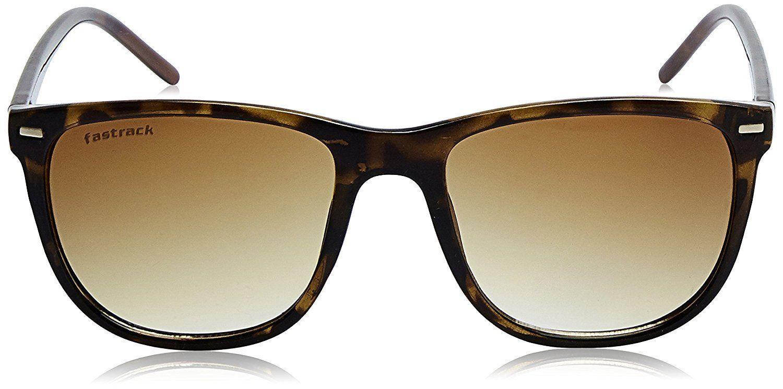 Fastrack Gradient Square  Sunglasses - (P365BR1|53|Brown Color)