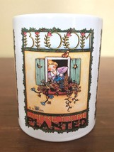 1984 Vintage Mary Engelbreit Bloom Where You're Planted Coffee Mug - $23.56 CAD