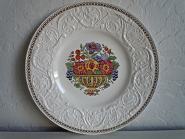 Wedgwood Windermere Multicolor Salad Plate Crazing - $15.04