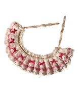 Handmade Pink Bowknot Retro Lace Collars Dog Necklace Cat Neckerchief 8.... - $16.60