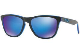 Oakley FROGSKINS Eclipse Collection Eclipse Blue w/Sapphire Iridium OO90... - $101.67
