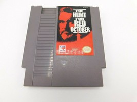 Nintendo NES Hunt For Red October Video Game Entertainment - $9.89