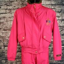 Vintage Coltech 2PC PINK Snowsuit Size 8 - $96.03
