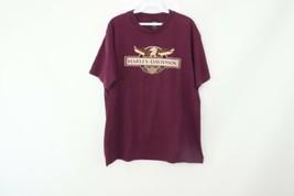 Vintage 90s Harley Davidson Uomo Grande Aquila Moto San Diego Ca T Shirt... - $33.62