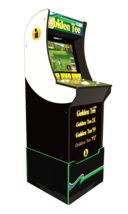 Golden Tee Arcade Machine with Riser and Lighted Marquee, 4ft, Arcade1UP NIB