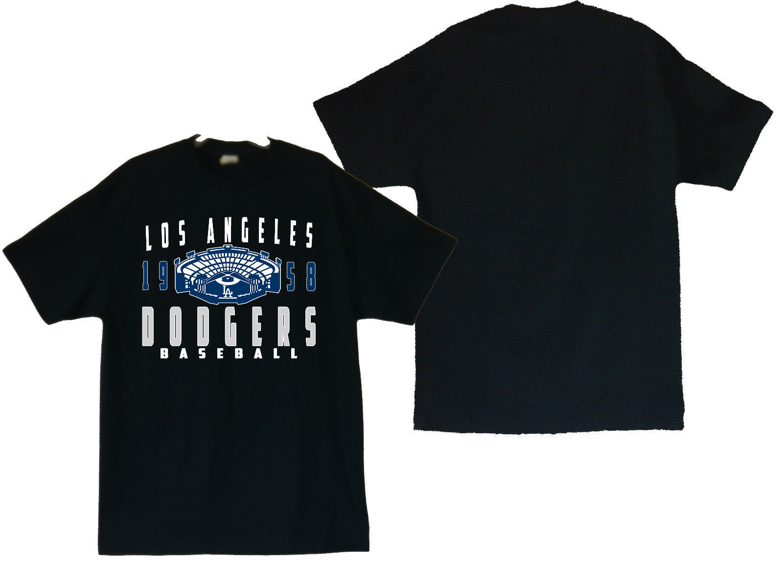 Primary image for Los Angeles Dodgers With Stadium Men's T-Shirts Sizes