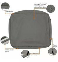 "Classic Accessories Montlake FadeSafe Cushion Slip Cover - 19""W x 20""H x 4""T image 6"