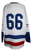 Custom Name # Seattle Totems Retro Hockey Jersey 1966 New White Any Size image 2