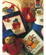 Toddler Cross Stitch Paddington Spot Miffy Duck Cloth Book Bag Puppets Patterns - $10.99