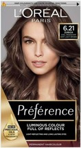 L'Oreal Preference 6.21 ZURICH Opera Irridescent COOL Very Light Brown H... - $20.80