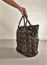 Intreccio 101 handmade woven leather bag  image 3