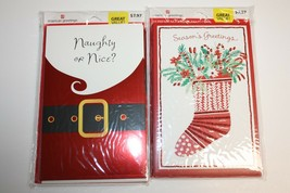 New American Greetings 20 Premium Christmas Cards & Envelopes - $17.81
