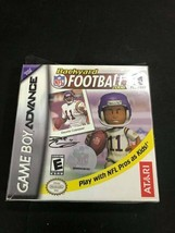 Backyard Football 2006 Gameboy Advance Nintendo Game Boy CIB COMPLETE  - $14.80