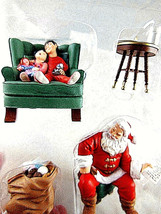 Hallmark Santa's Big Night 2002 Mint In Box Vintage 4 piece keepsake orn... - $19.79