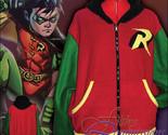 Batman - Robin Inspired Hoodie jacket cosplay costume coat handmade - $72.00
