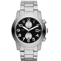Marc Jacobs Men's MBM5050 Larry Chronograph Stainless Steel Watch - $166.20