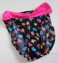1 VINTAGE 90s NWOT Brazilian Bow Floral Bikini Bottom SZ 7 - $14.84