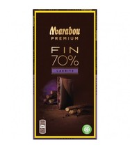 Marabou Premium 70% Cocoa Lakrits Chocolate 10 pack 1kg / 35oz - $64.35