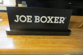 original Joe Boxer two sided shelf topper store display clothing mfg.co sign - $61.75
