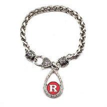 Inspired Silver Rutgers State University New Brunswick Scarlet Knights T... - $590,81 MXN